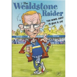 NEW Wealdstone Raider Greeting Card