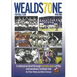 NEW Wealds70ne Football Club Book