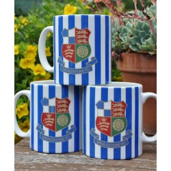 Wealdstone FC Blue & White Striped Mug