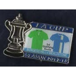 Burgess Hill v Wealdstone match badge