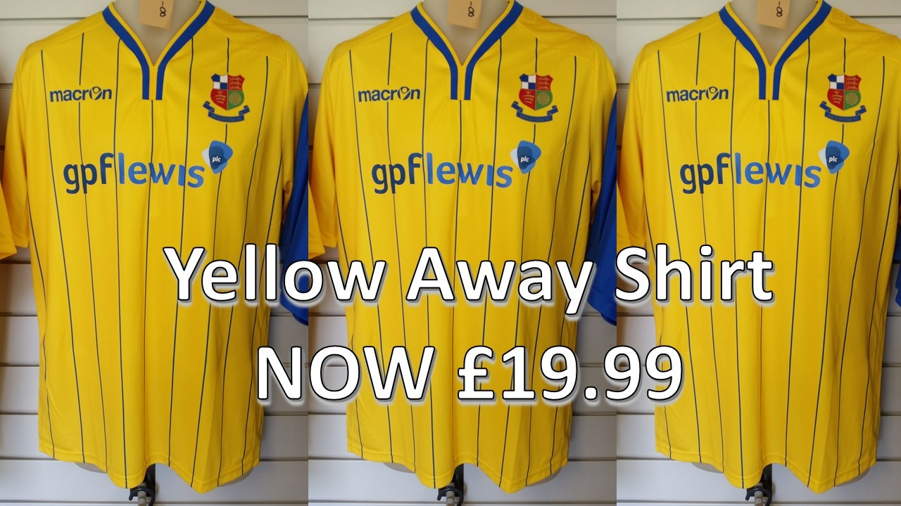 Yellow Away Shirt