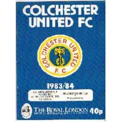 Colchester U v Stones FA Cup 2nd Round 1983