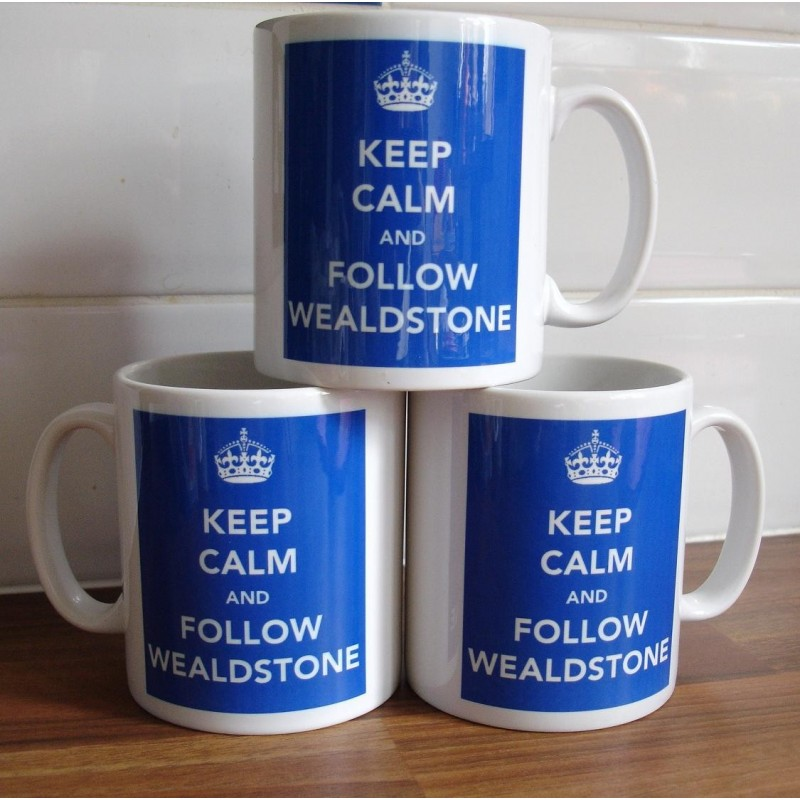 Keep Calm and Follow Wealdstone Mug