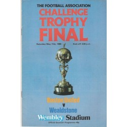 1985 FA Trophy Final vs Bston United DVD