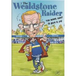 NEW Wealdstone Raider Greeting Card