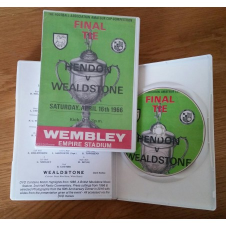 DVD Wealdstone v Hendon FA Amateur Cup Final 1966