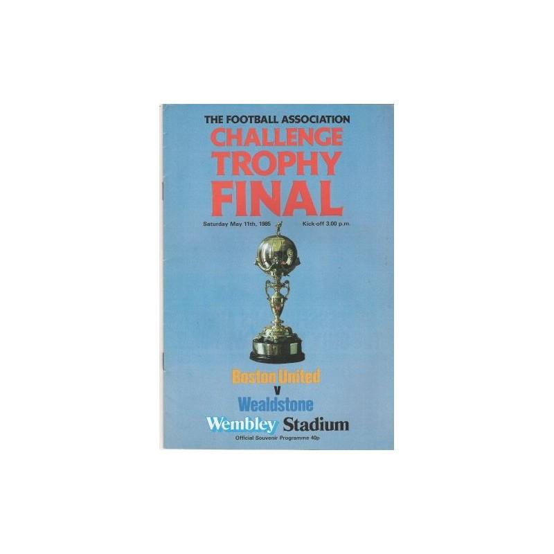 1985 FA Trophy Final vs Bston United DVD