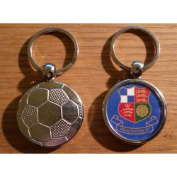 Wealdstone Metal Football Keyring