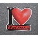 I Love Wealdstone Fridge Magnet