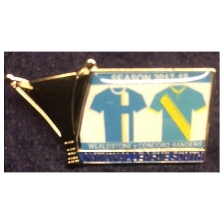 Wealdstone v Concord Rangers match badge
