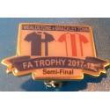 Brackley FA Trophy Semi-Final match badge