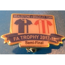 Brackley FA Trophy Semi-Final match badge