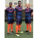 NEW Wealdstone Navy & Orange Away Shirt  (2018-19)
