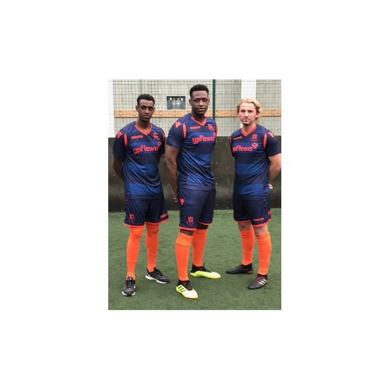 NEW Wealdstone Navy & Orange Away Shirt  (2018-19)