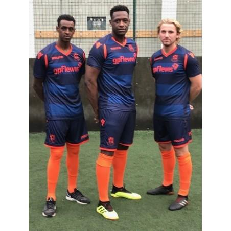 Wealdstone Navy & Orange Away Shirt  (2019-20)