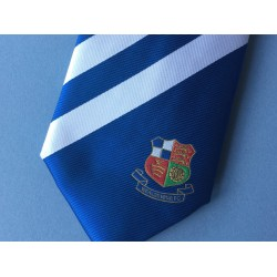 Wealdstone FC Tie Blue & White Striped