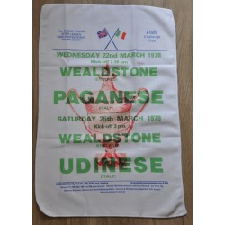 Wealdstone FC Kits Tea Towel
