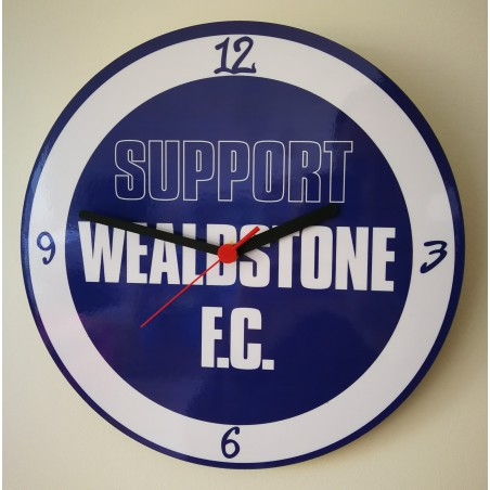 Support Wealdstone FC Clock
