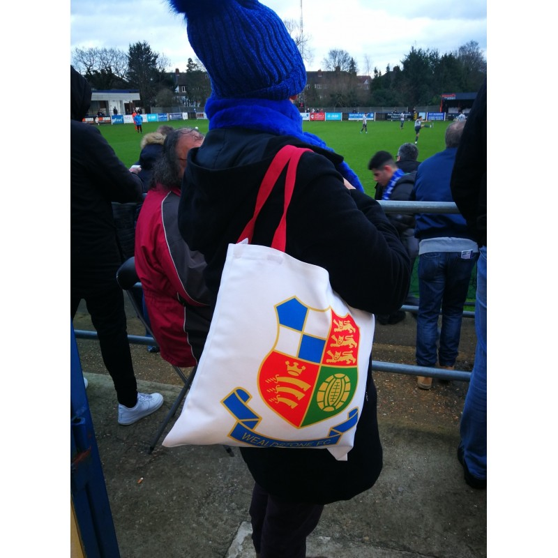 Wealdstone FC Badge Tote Bag