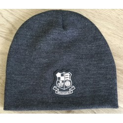 Wealdstone Black Beanie - Rubber Badge