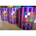 Wealdstone FC Pink & Navy Striped Mug