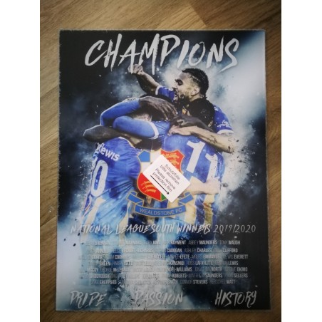 Champions Acrylic Print by Steve Foster