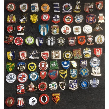ENGLISH FOOTBALL LEAGUE BADGES 2020-2021