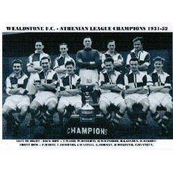 Wealdstone FC Athenian League Champions 1951/2