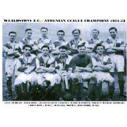 Wealdstone FC Athenian League squad 1951-52