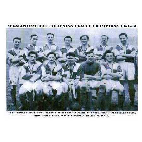 Wealdstone FC Athenian League Champions 1951-52