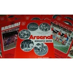 Arsenal v Coventry 11th Dec 1971