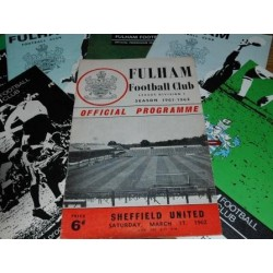 Tottenham Hotspur v Fulham 2nd Nov 1963