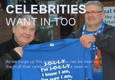 Celebrities want in too
